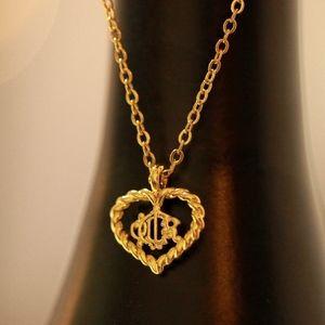 Vintage Dior Gold Tone Necklace